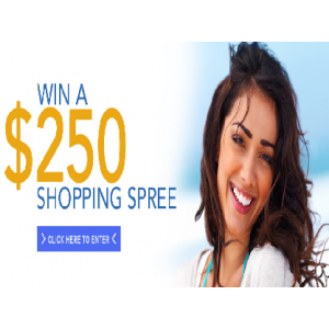 Win A $250 on Shopping Spree