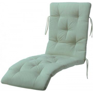 Buy Tufted Deluxe Outdoor Chaise Cushion At $180.00