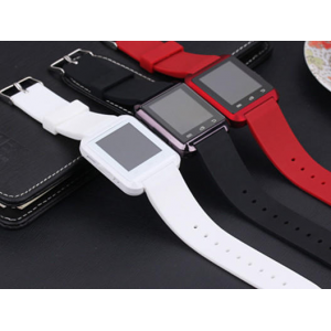 Bluetooth Silicone Smart Watch for Android & iOS - 3 Colors At $29.99 (Living Social)
