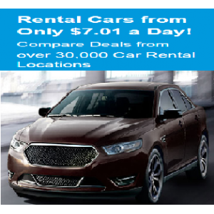 Get Rental Cars Only $7.01 a Day At CheapOair