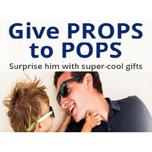 Give PROPS to POPS - Surprise him with super-cool gifts! Available at Newegg