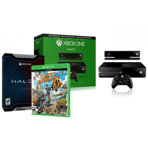 Xbox One Console with Kinect and Halo 5 Limited Edition and Sunset Overdrive At $299.99 (groupon)