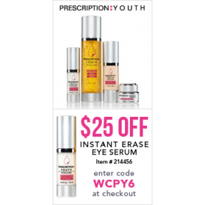 Flat $25 Off on Instant Erase Eye Serum (FragranceNet)