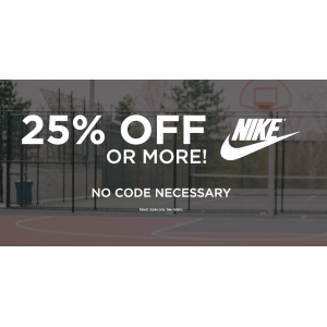 Get 25% Off Or More On Nike