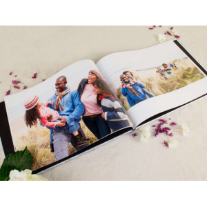 Personalized Hardcover 1-Click Photo Book At $9.99