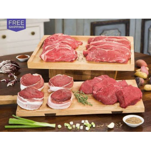 100% Grass-Fed Organic Steak + Free Shipping At $84.99