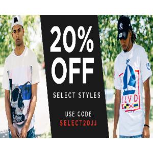 Flat 20% Off on Men's Clothing (Jimmy Jazz)