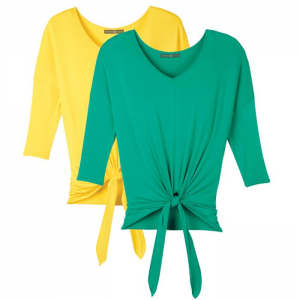 Get 2-Pack Knotted Dolman Tops At $24.99 (Avon)