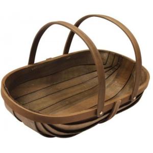 Wooden Garden Trug Wood Garden Basket Plant Flower Caddy At $45.91 (Ebay)