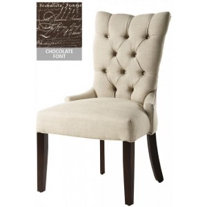 CUSTOM TUFTED-BACK DINING CHAIR At $258.70