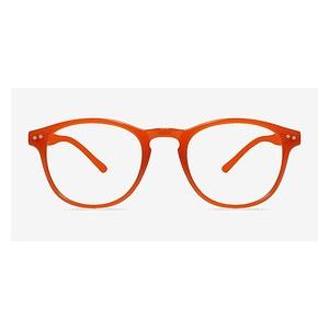 Instant Crush Orange Eyeglasses for Women At $15 (Eyebuydirect)