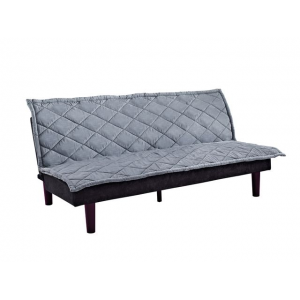 DHP Pillowtop Sofa Sleeper Couch Futon with Premium Microfiber Upholstery with Removable Cover At $94.99 (Newegg)