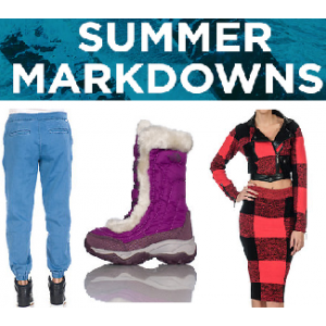 Summer Markdowns : Buy Clothing & Accessories for Men's & Women's Just At $29.99 (Jimmy Jazz)