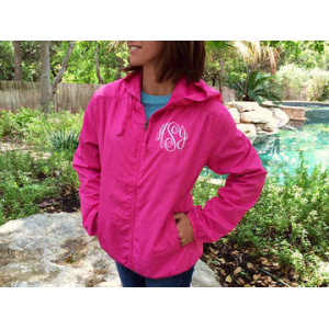 Monogrammed Rain Jacket At $29.99(living social)