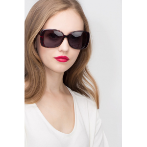 Buy Black Red Sunglasses for Women At $39 (Eyebuydirect)