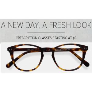 Buy Prescription Glasses Starting At $6 (Eyebuydirect)