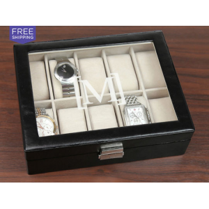 Personalized Men's Watch Case At $39.99