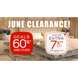 June Clearance Sale : Get 60% + Extra 7% Off on Hotels At Hotels.com