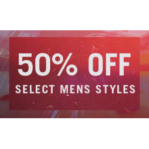Flat 50% Off on Men's Clothing & Accessories