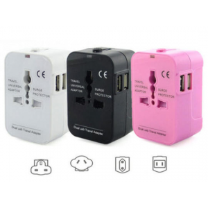 Worldwide Power Adapter and Travel Charger with Dual USB At $14.99(living social)
