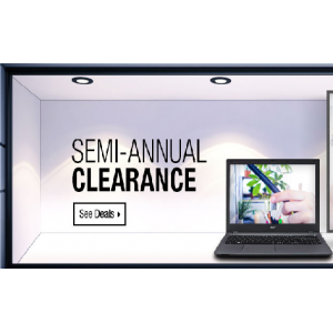 Get Semi Annual Clearance Sale on Electronics