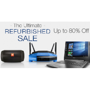 The Ultimate Refurbished Sale: Up to 80% off at Newegg Marketplace