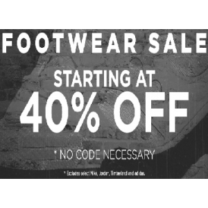 Get Footwear Sale Starting at 40% Off at JimmyJazz