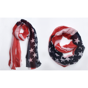 Buy 4th of July Flag Scarves Just At $7.99 (Groupon)