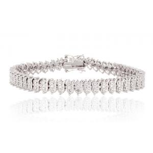 Diamond Accent Tennis Bracelet At $8.99