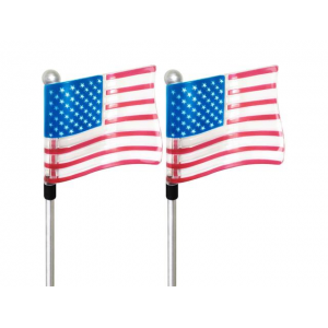Independence Day Special : SolarDuke Solar US Flag Stake Lights For Outdoor At $27.99 (Newegg)