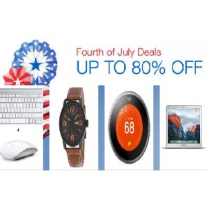 Fourth Of July Celebration Get Top Brands Upto 80% Off at Ebay