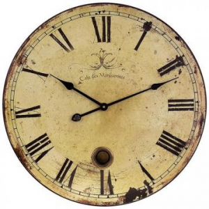 OVERSIZED WALL CLOCK At $44.00