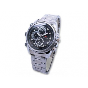 8GB Camera DVR Spy Watch with Built-In Microphone At $19.99(living social)