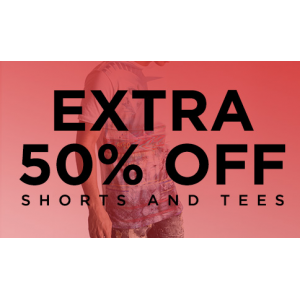Extra 50%Off On Shorts And Tees(jimmy jazz)