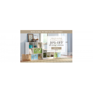 Get 10% Off On All Storage Containers(Home Decorators Collection)