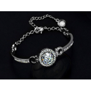 Perfect Cut 3.5ct Swarovski Elements Bracelet At $12.99(living social)