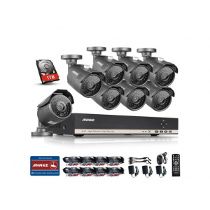 Annke 8CH 1080N Security DVR with 8x 1.3MP CCTV Cameras and 1TB Hard Drive At $289.99 (newegg)