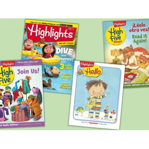 1-Year Subscription to Kids' Highlights Magazines At $29.99(livind social)