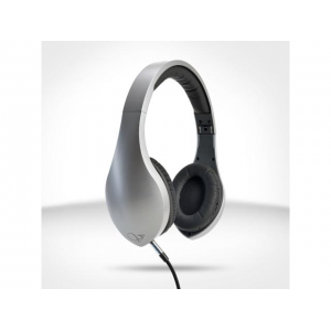 Velodyne vLeve On-Ear Headphones with Inline Mic & 3-Button Remote - Satin Silver At $16.99(newegg)