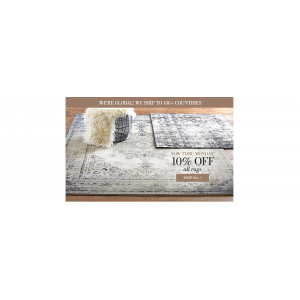 Get 10% Off On All Rugs