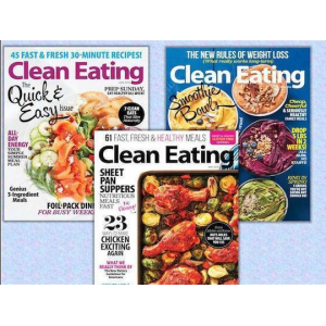 1-Year Subscription to Clean Eating Magazine At $12(living social)