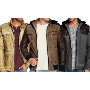 Clearance - XRay Men's Lightweight Jackets At $37.97(groupon)