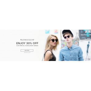 Enjoy 30% Off All Styles From This Special Sunglasses Series At Eyebuydirect