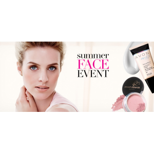 Summer Face Event : Select Makeup Products Buy 1, Get 1 for $2.99 At Avon