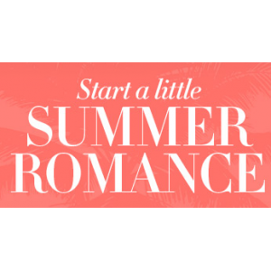 Start a little summer romance with up to 50% off only At Avon