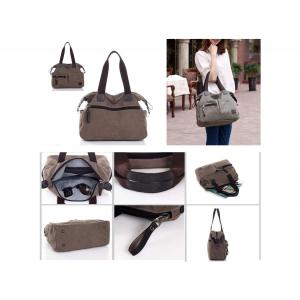 Uptown Journey Canvas Bag + Free RFID Blocker Wallet - 5 At $44.99(livingsocial)