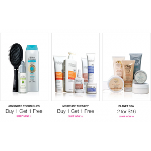 Advance Techniques : Buy 1, Get 1 Free only At Avon