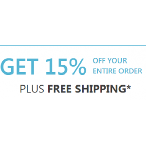 Get 15% Off on Your Entire Order + Free Shipping Only At Eyebuydirect