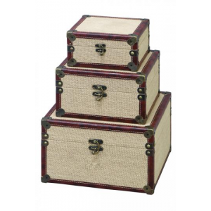 Buy Gavin Boxes Set Of 3 Just at $58(Homedecorators)
