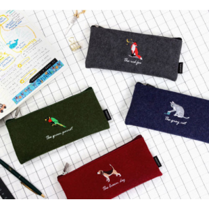 Tailorbird Pencil Pen Case Pencase Pouch Organizer Needlework Zipper Bag Box At $14.24(Ebay)